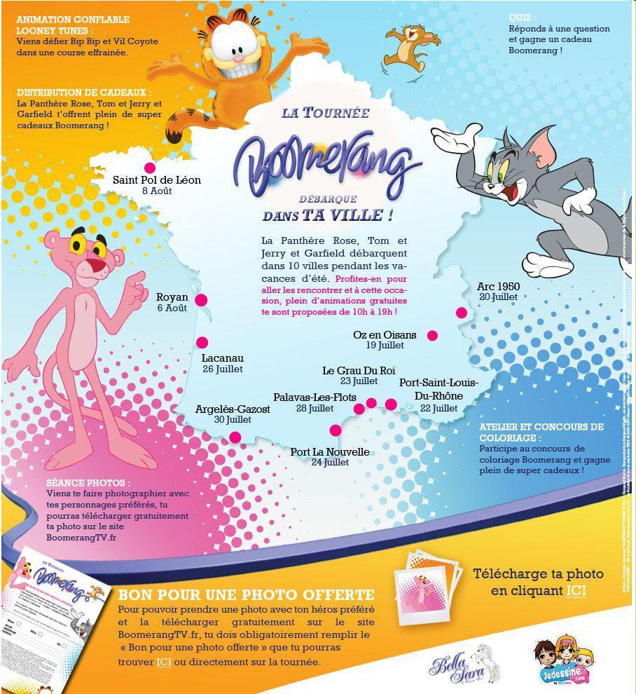 Tournée Boomerang 2011