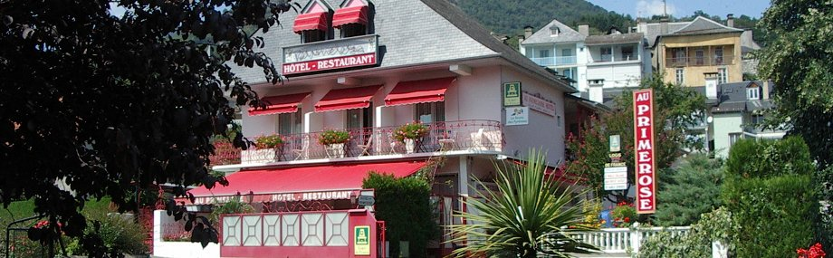 Hotel Argelès Gazost - Au Primerose - Hotel Restaurant
