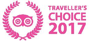 Certificat Tripadvisor , Traveller's choice 2015 - Au Primerose Hotel