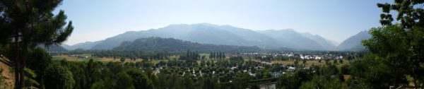 Vue montagne depuis Argelès-Gazost