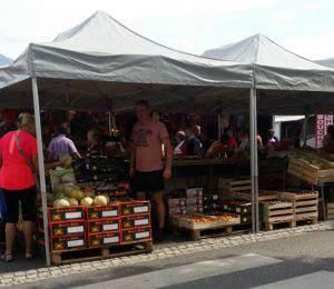 Le marché d'Argelès-Gazost