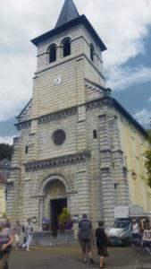 Le centre-ville d'Argelès-Gazost
