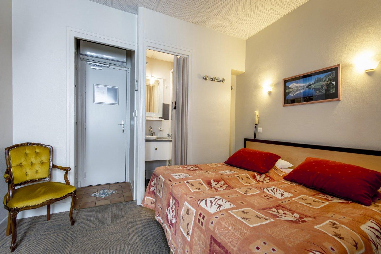 Chambre Twin dans les Pyrénées